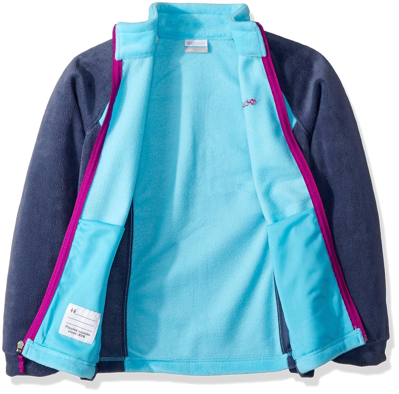 Soft Fleece Classic Fit Columbia Youth Girls Benton Springs Jacket