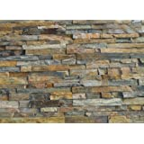 Natural Stone Stacked Wall Siding - Slate - China Multi