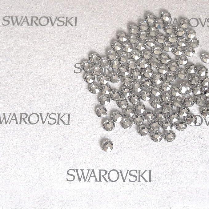 2.25 mm 100 Pz Strass termoadesivi Swarovski Originali Dim col Crystal RUJADA SS12