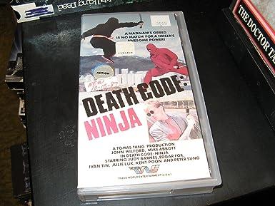 Amazon.com: Death Code:Ninja [VHS]: John Wilford, Tom Cheng ...
