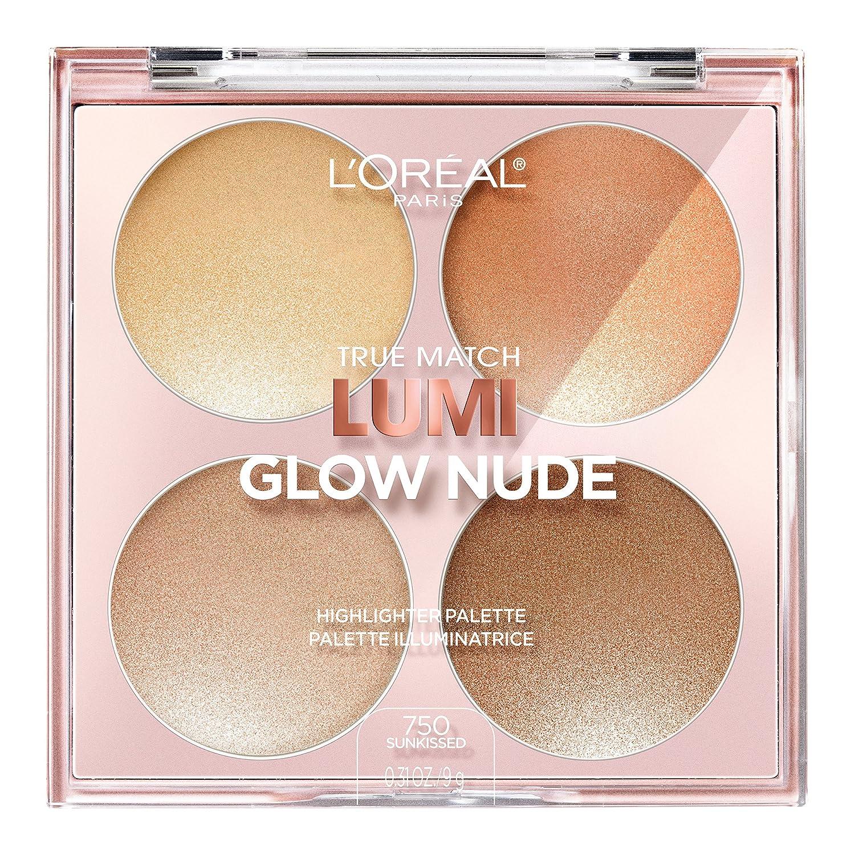 L'Oreal Paris True Match Lumi Glow Nude Highlighter Palette, 760 Moonkissed, 7.3g L' Oreal Paris