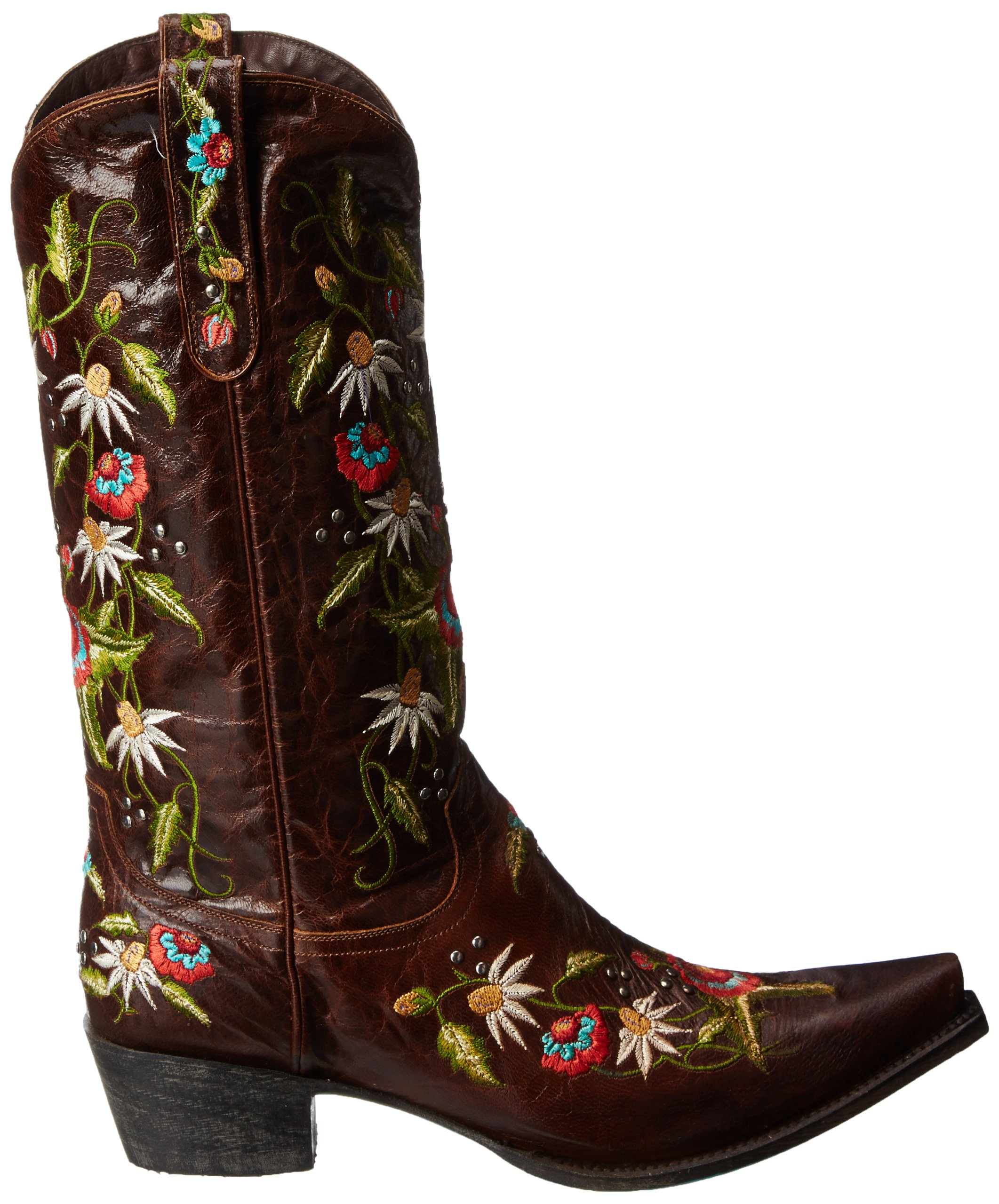 Lane Boots Women's Summer Bounty Studs Western Boot,Brown,10.5 B US by Lane Boots (Image #6)