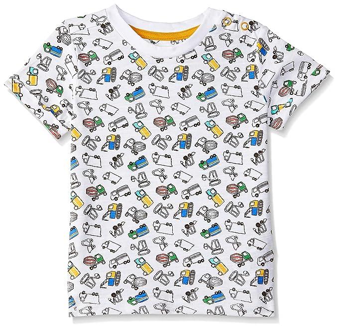 Baby Boys Animal Print Regular Fit T-Shirt