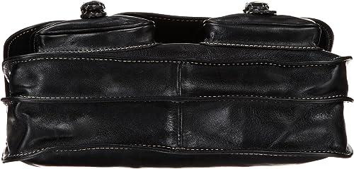 Floto Luggage Poste Messenger Bag, Black, One Size