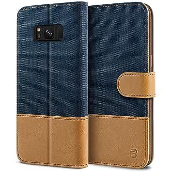 BEZ Funda Samsung Galaxy S8, Carcasa Compatible para Samsung ...