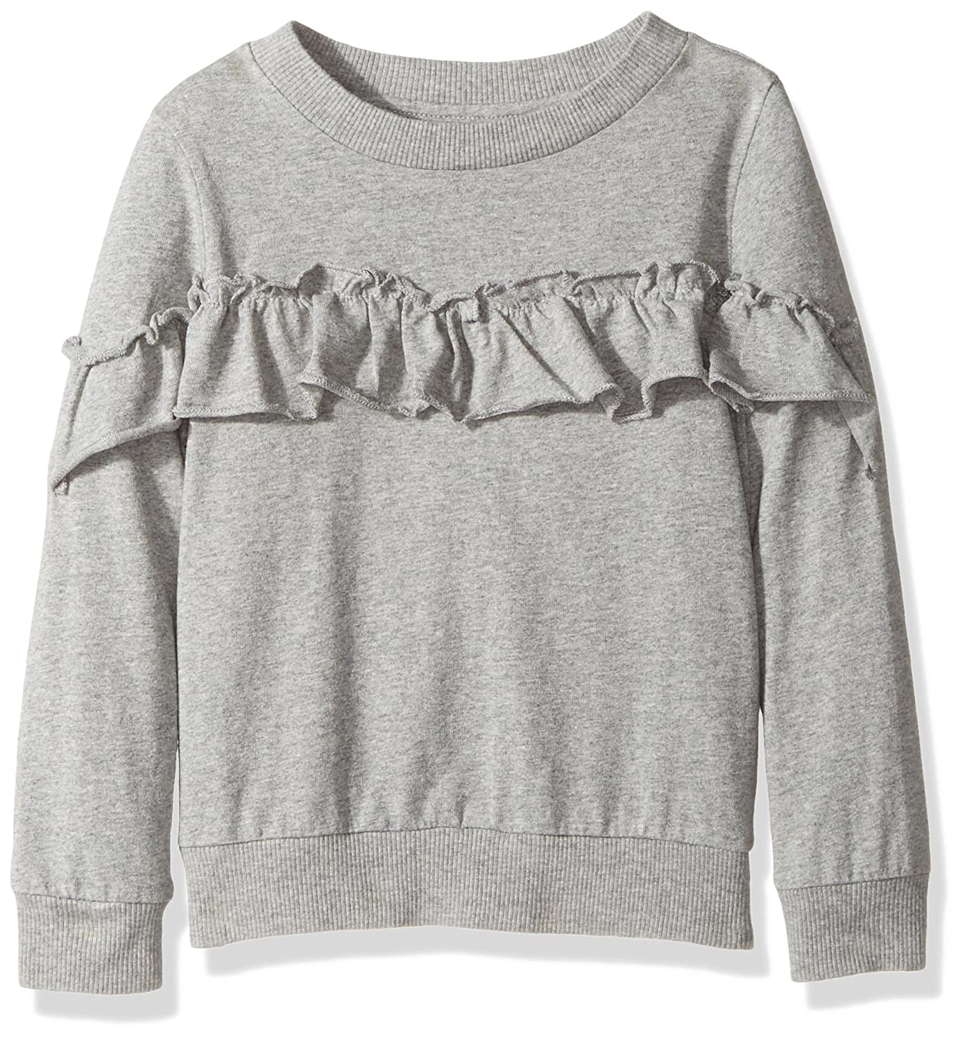 Hudson Girls' Heather Ruffle Pullover H637LK931