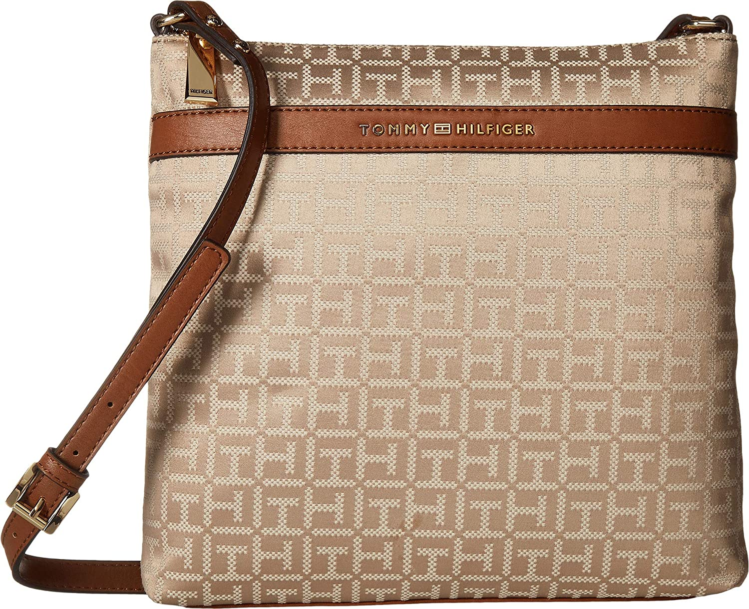 Tommy Hilfiger Womens Abington Large North South Crossbody