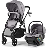 Summer Myria Modular Travel System with The Affirm 335 Rear-Facing Infant Car Seat, Stone Gray  – Convenient Stroller and Car