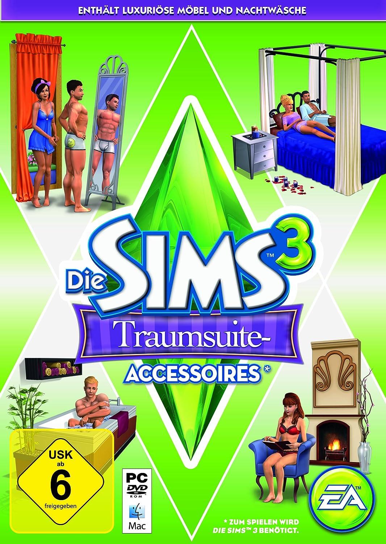 Die Sims 3 Traumsuite Accessoires Pcmac Amazonde Games