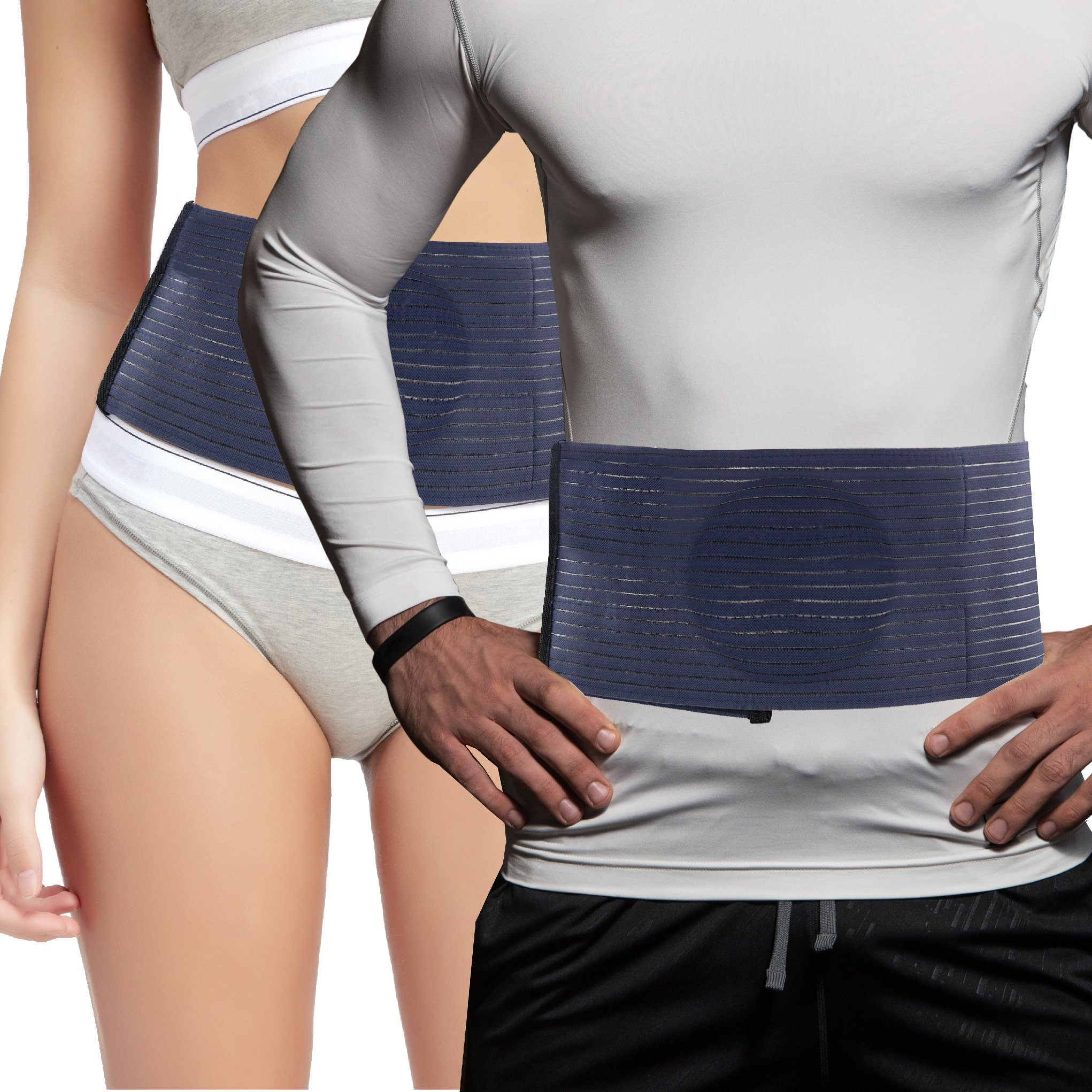 Everyday Medical Umbilical Hernia Belt - for Men and Women – Abdominal Hernia Binder for Belly Button Navel Hernia Support, Helps Relieve Pain - for Incisional, Epigastric, Ventral, Inguinal Hernia