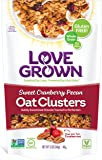 Love Grown Oat Clusters, Sweet Cranberry Pecan, 12-Ounce (Pack of 3)