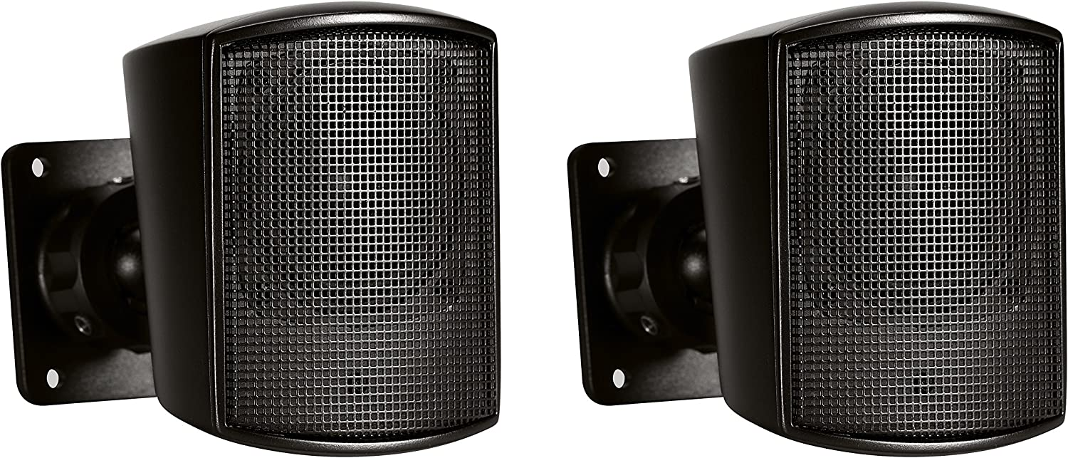 JBL Professional Control 52 Surface-Mount Satellite Speaker for Subwoofer-Satellite Loudspeaker System, Black, Sold as Pair