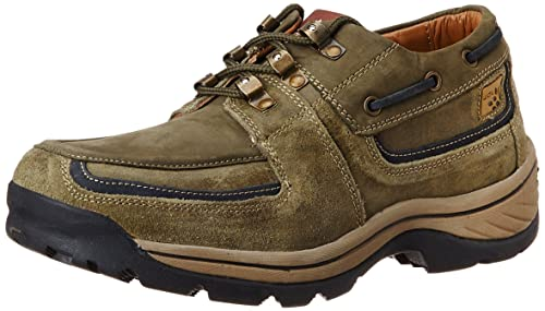 Woodland Men's Leather Sneakers Men's Sneakers at amazon