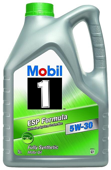 18 opinioni per Mobil 1 ESP Formula 151055 5W30- Olio motore completamente sintetico, 5 l