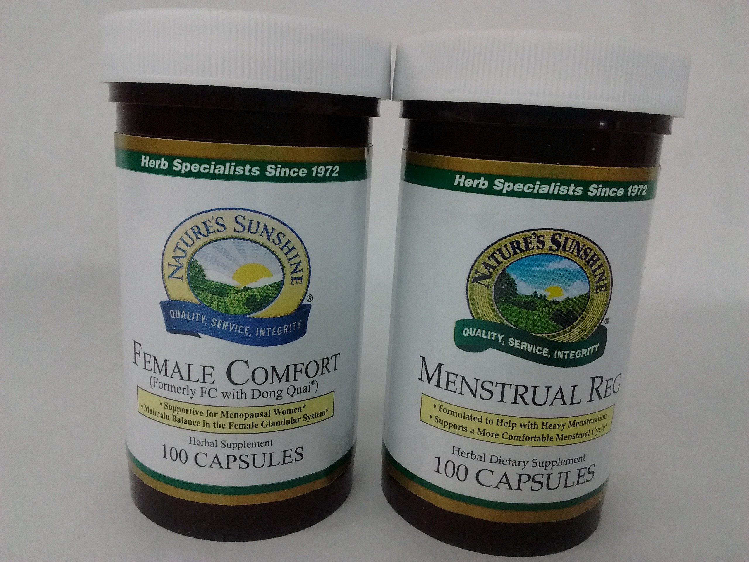 Female Comfort Menstrual Reg Bundle