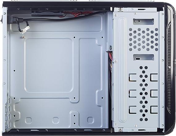 Hiditec Torre Pc SLM10 (Micro ATX, USB 2.0, USB 3.0, Estructura Acero, 2 conectores SATA, 2 conectores MOLEX, incluye fuente de 450W y Ventilador de 80mm) negro: Hiditec: Amazon.es: Informática