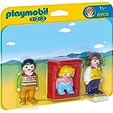 Playmobil 1.2.3. - 6966 - Parents avec bébé dans le berceau