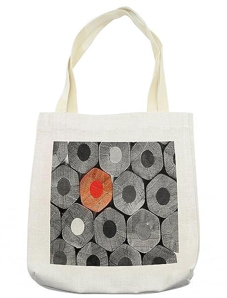 Amazon.com: Bolso de mano de color rojo y negro, diseño de ...