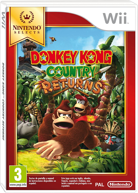 Donkey Kong Country Returns: Amazon.es: Videojuegos