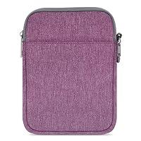 MoKo Kindle Paperwhite/Kindle Voyage Sleeve Hülle - Tragbare Nylon Schutzhülle Tasche für Amazon Kindle Paperwhite/Voyage / 6 inch Kindle Oasis/Kindle 8. / HD 6 6 Zoll, Violett