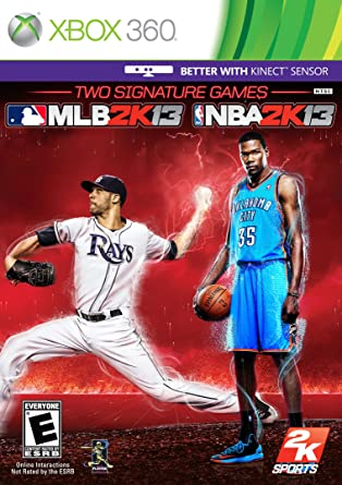 Mlb 2k13 & NBA 2k13: Xbox 360: Computer and Video Games