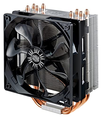 Cooler Master Hyper 212 EVO CPU Air Cooler '4 Heatpipes, 1 x 120mm PWM Fan, 4-Pin Connector' RR-212E-16PK-R1
