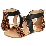 Amazon Price History for:Floopi Womens Summer Criss Cross Gladiator Ankle Strap Flat Sandal W/Back Zipper