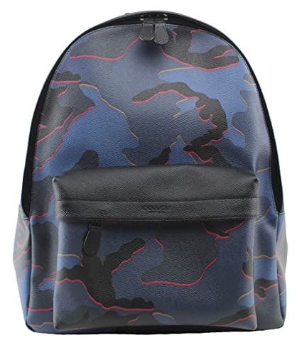 2acfef6c53 Amazon.com  COACH Charles Backpack with Camo Print