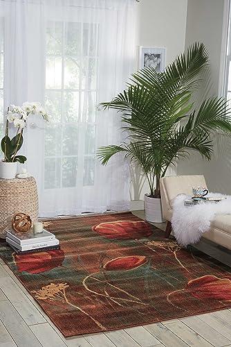 Nourison Somerset Multicolor Rectangle Area Rug