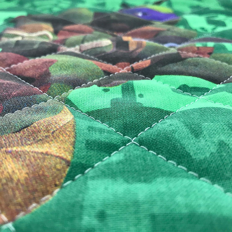 Vendu au demi-m/ètre Tissu matelass/é pour enfants 1 unit/é = 50 cm gigoteuses Accessoires couvertures linge Panini Tessuti 2 unit/és = 100 cm
