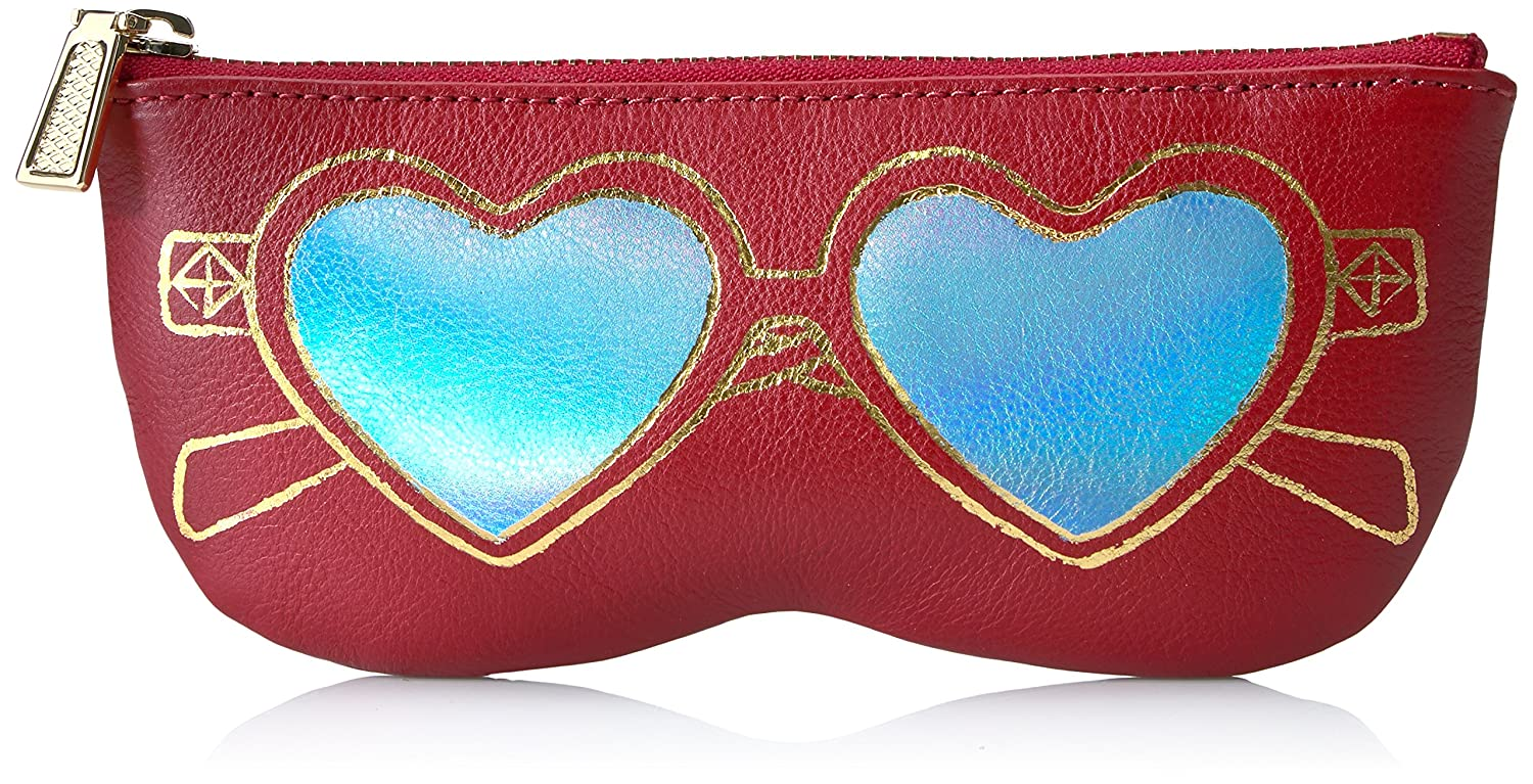Rebecca Minkoff Heart Sunnies Pouch Deep Red SR26IPOP8A