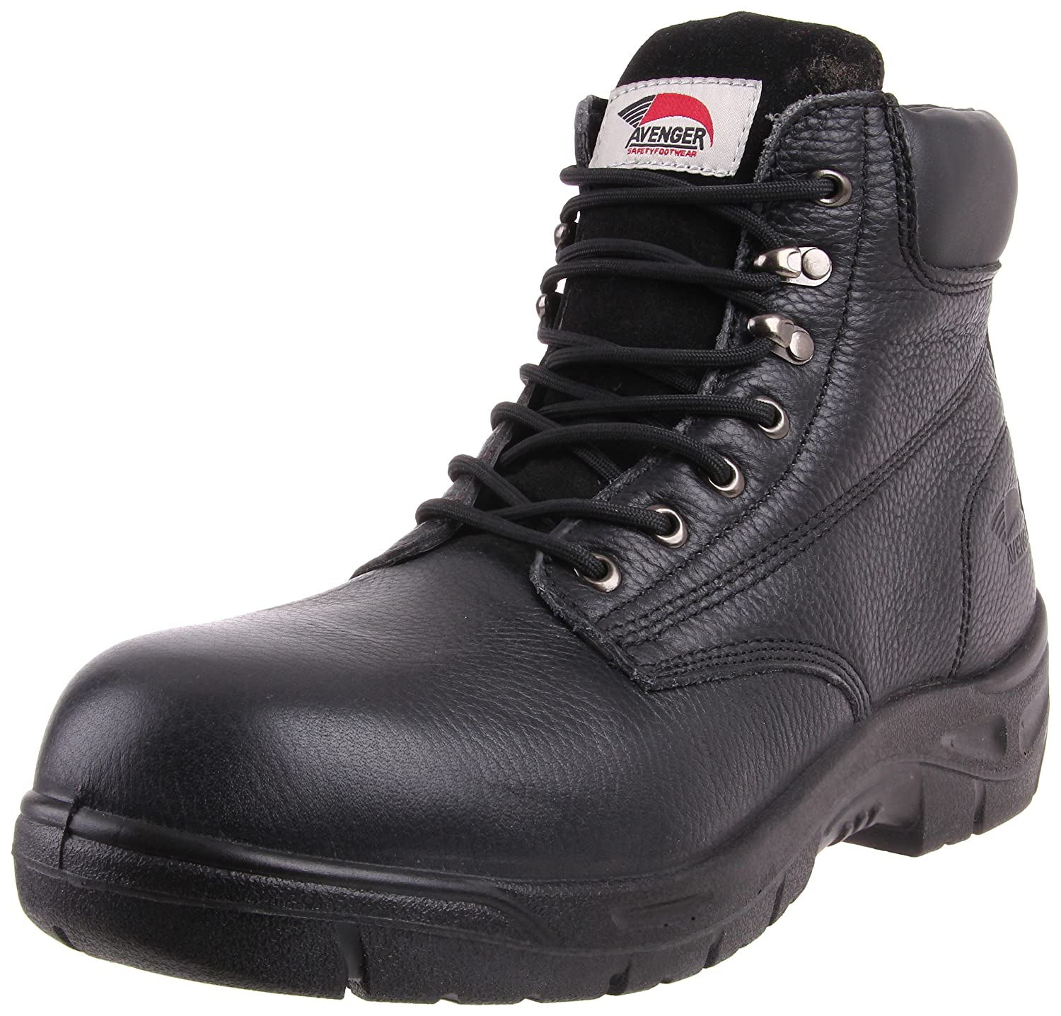 Avenger Safety Footwear メンズ B002WC8BJQ 11 C/D US|ブラック ブラック 11 C/D US