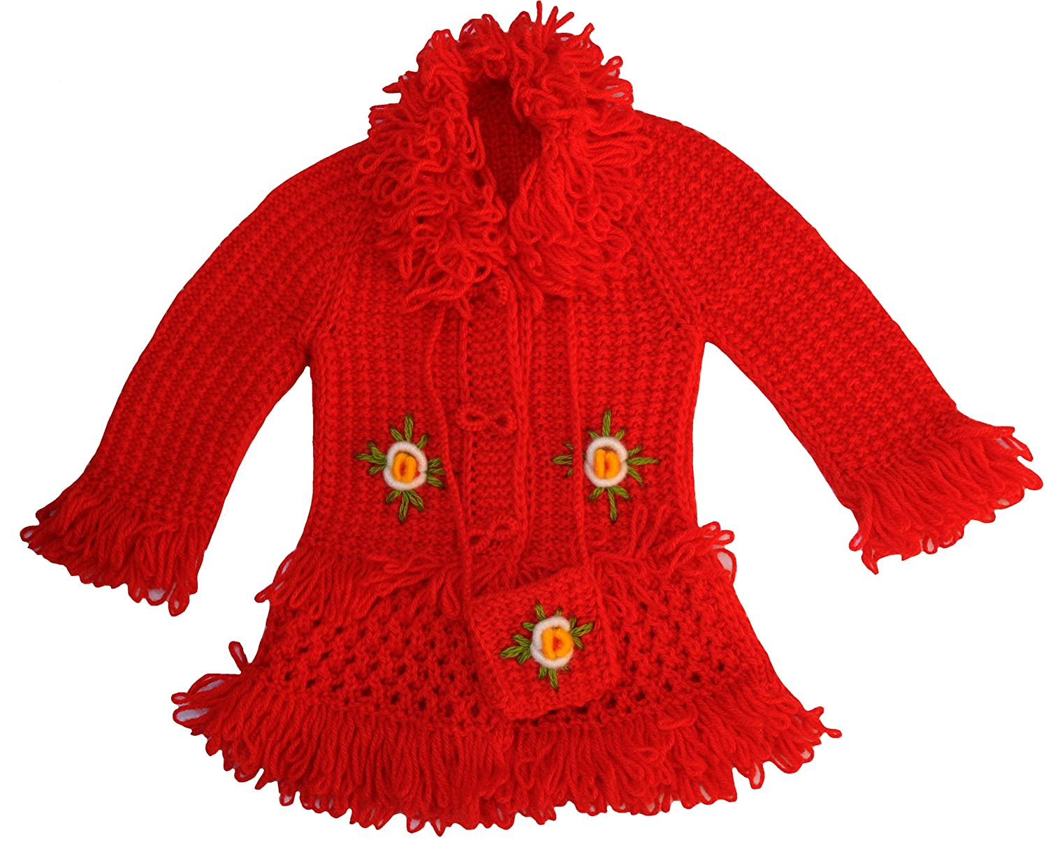 2.5T-3.5T Knit Toddler Wool Coat Size