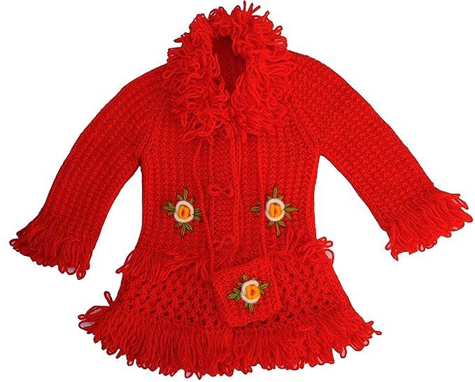 Amazon.com: chamarra de lana tejer bebé, tamaño: 2.5t-3.5t ...
