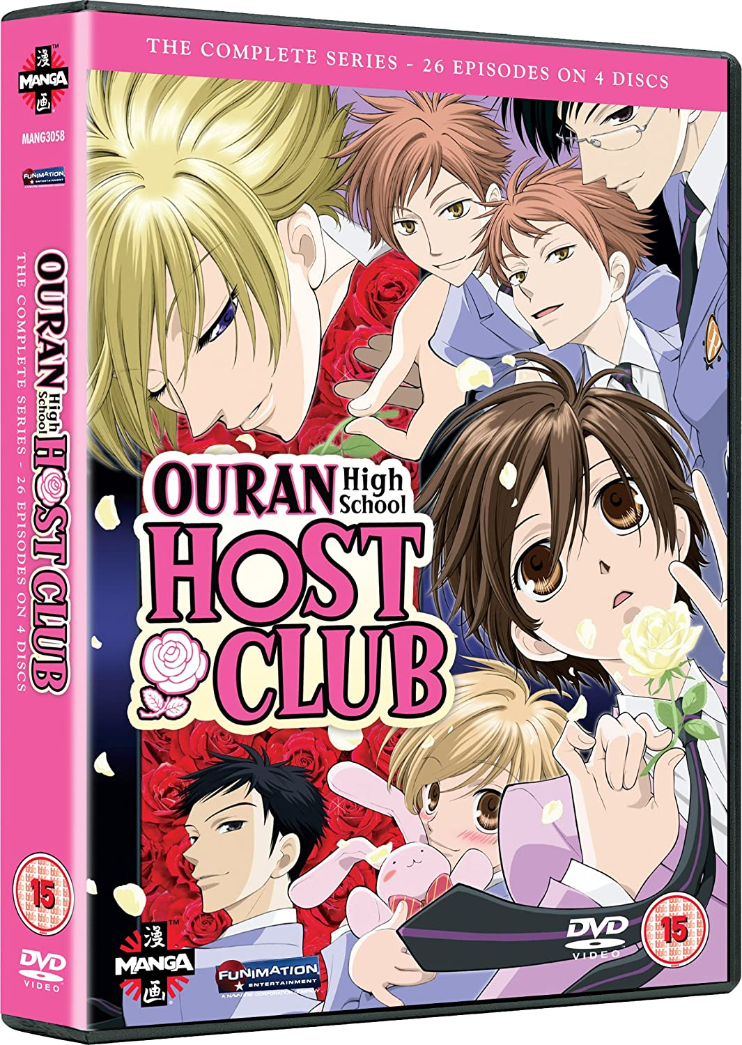 Ouran High School Host Club - Complete Series DVD: Amazon.co.uk ...