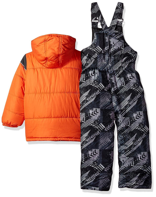 iXTREME boys Ixtreme Colorblock Snowsuit W/Print Bib 98457