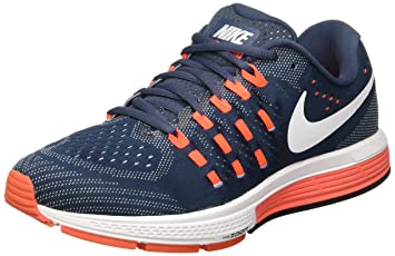 new arrival 5c663 746ff Nike Men s Air Zoom Vomero 11 Running Shoes, Black (Squadron Blue White
