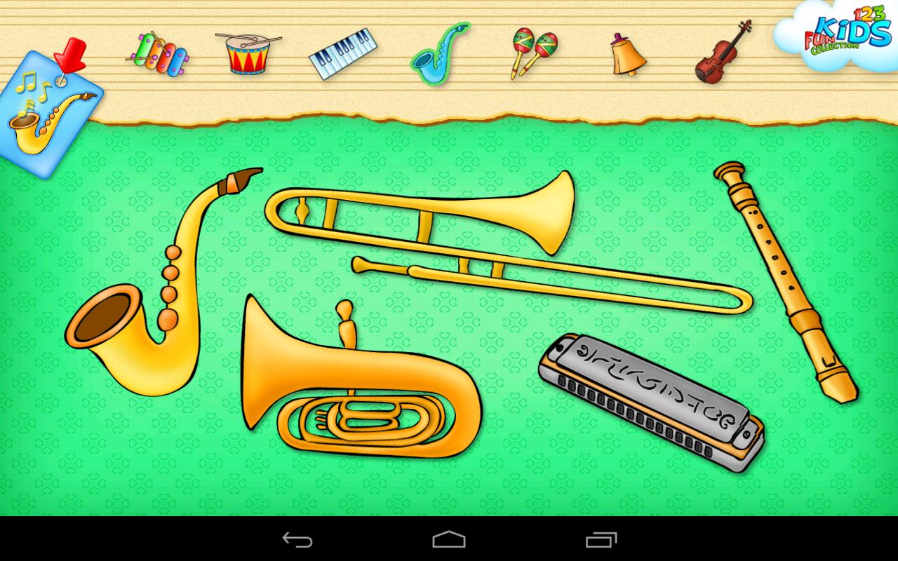 Amazon.com: 123 Kids Fun MUSIC Game - Free Educational ...