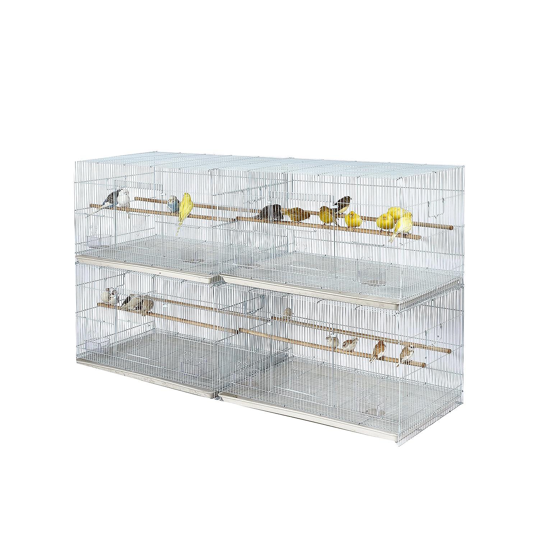 KOOKABURRA Weiden–4x Große Draht Zucht/halten Käfig–Kleine Parrot–Wellensittich–Kanarischen–Finch ect