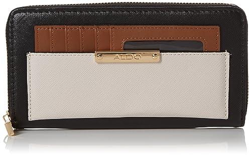 5f2bab194ec ALDO Womens Synthetic Black Wallet  Amazon.in  Shoes   Handbags