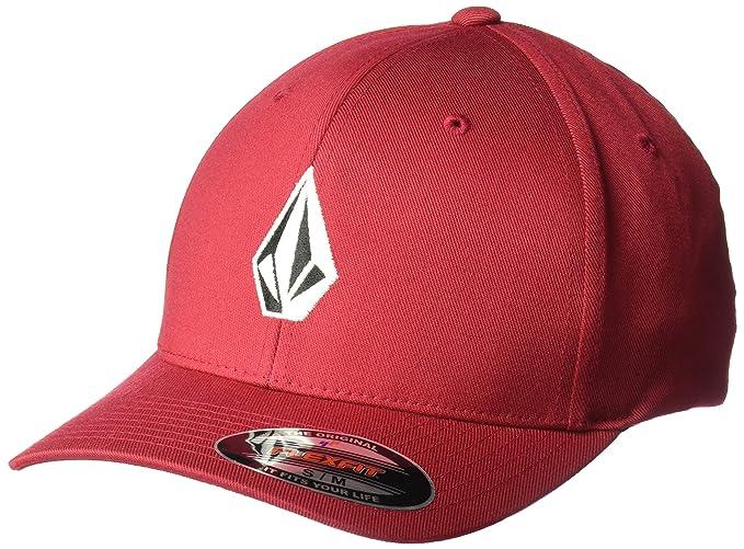 149b51143b802 Volcom Men s Full Stone Xfit Flex Fit Hat  Amazon.ca  Clothing ...