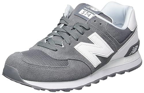 new balance 574 uomo grigio