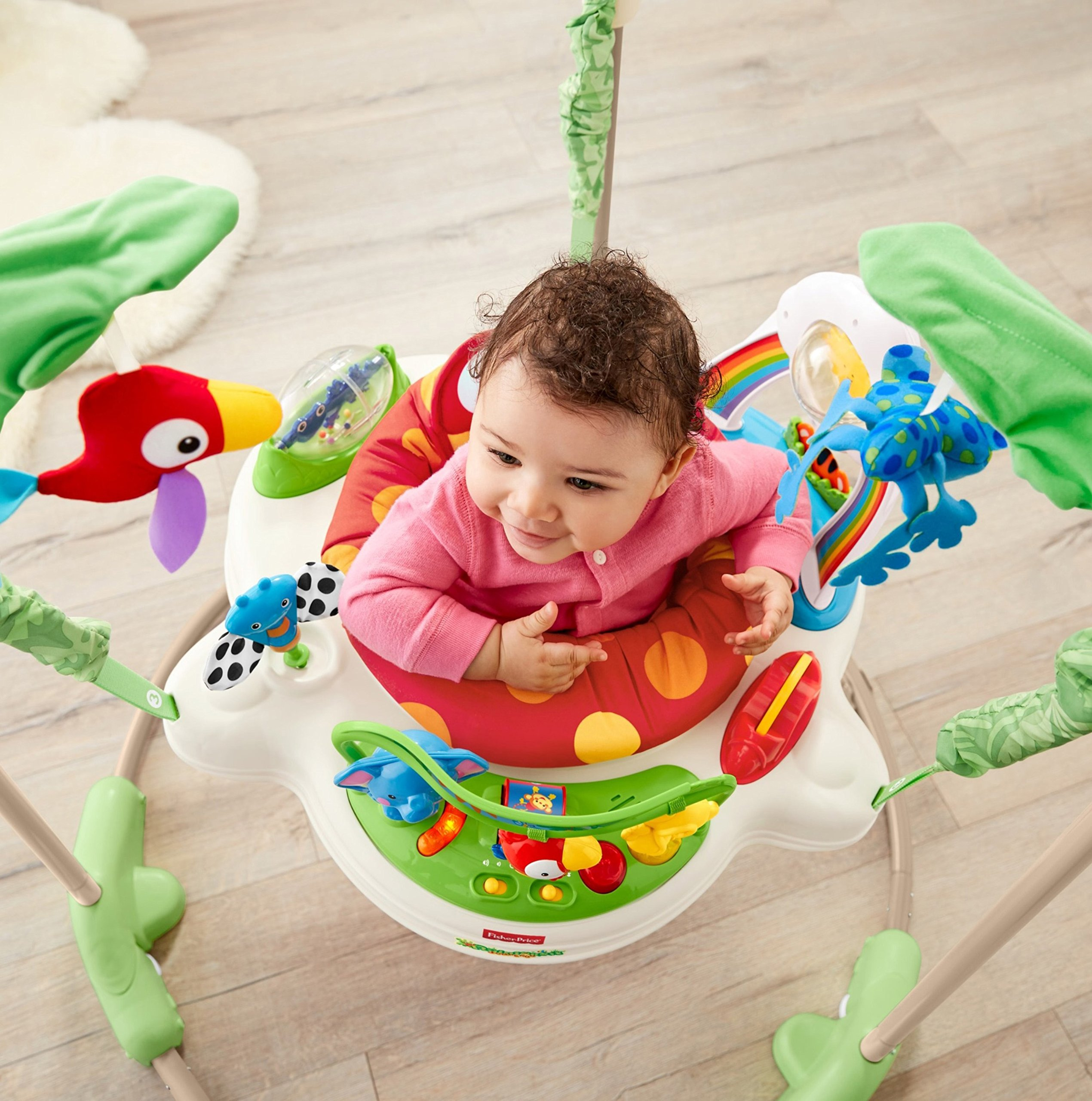 Fisher-Price Rainforest Jumperoo by Fisher-Price (Image #7)