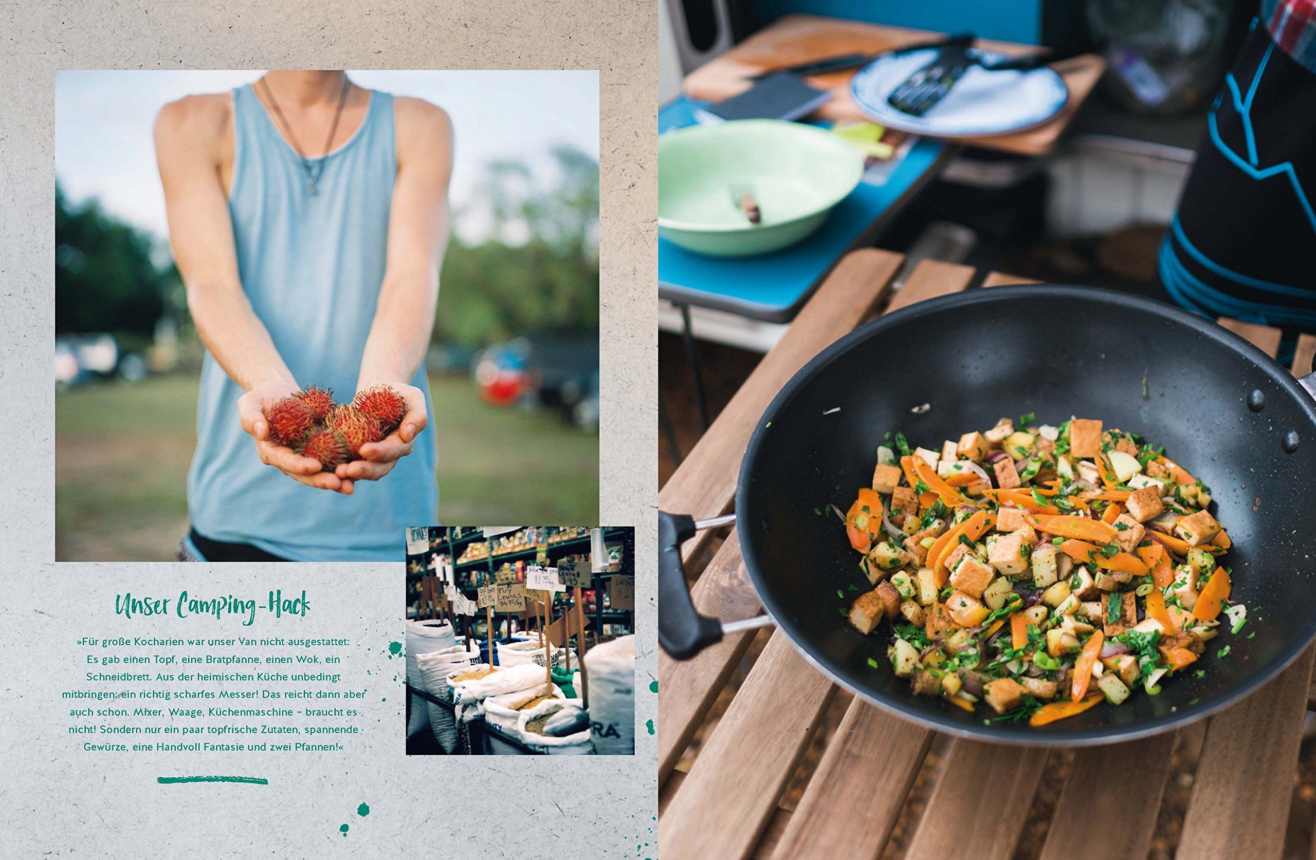 Die Neue Outdoor Küche Buch : Zwei pfannen on the road die einfachste camping veggie küche der