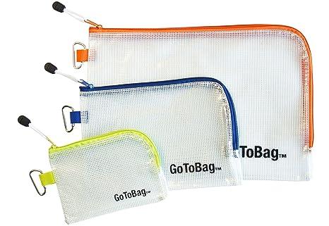 Amazon.com: Bolsas organizadoras por GoToBag, Resistente al ...