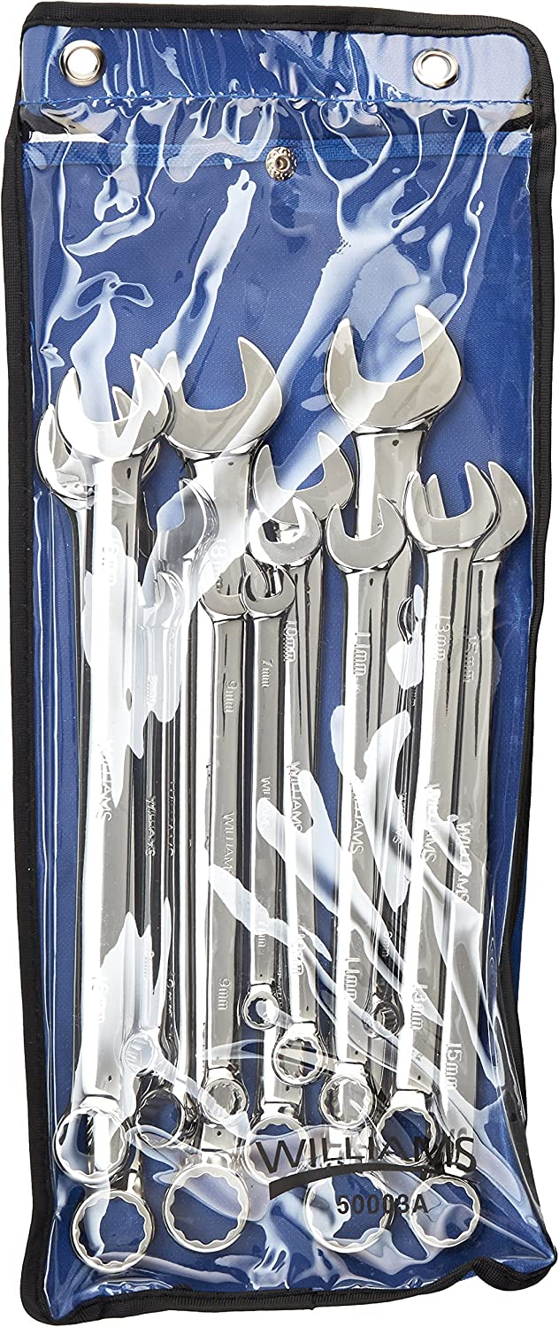 Williams 11013 High Polished Wrench Set, 6-19mm, 14-Piece 91wNtAO2BnXLSL1500_
