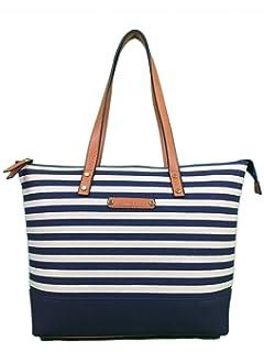 Canvas Bag Beach Bag with zips Designer tote Bag BEACH Large shoulder bag  shopper summer… c89911afa85a6