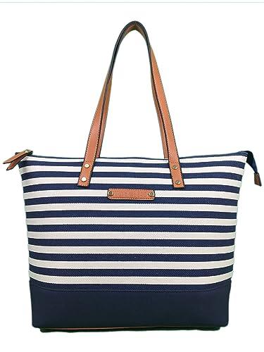 Canvas Bag Beach Bag with zips Designer tote Bag ❤BEACH❤ Large shoulder bag  shopper 5fe9ba6a4dd74