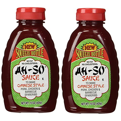 AH SO Chnse Style Bbq Sauce, 15oz, 2 pk