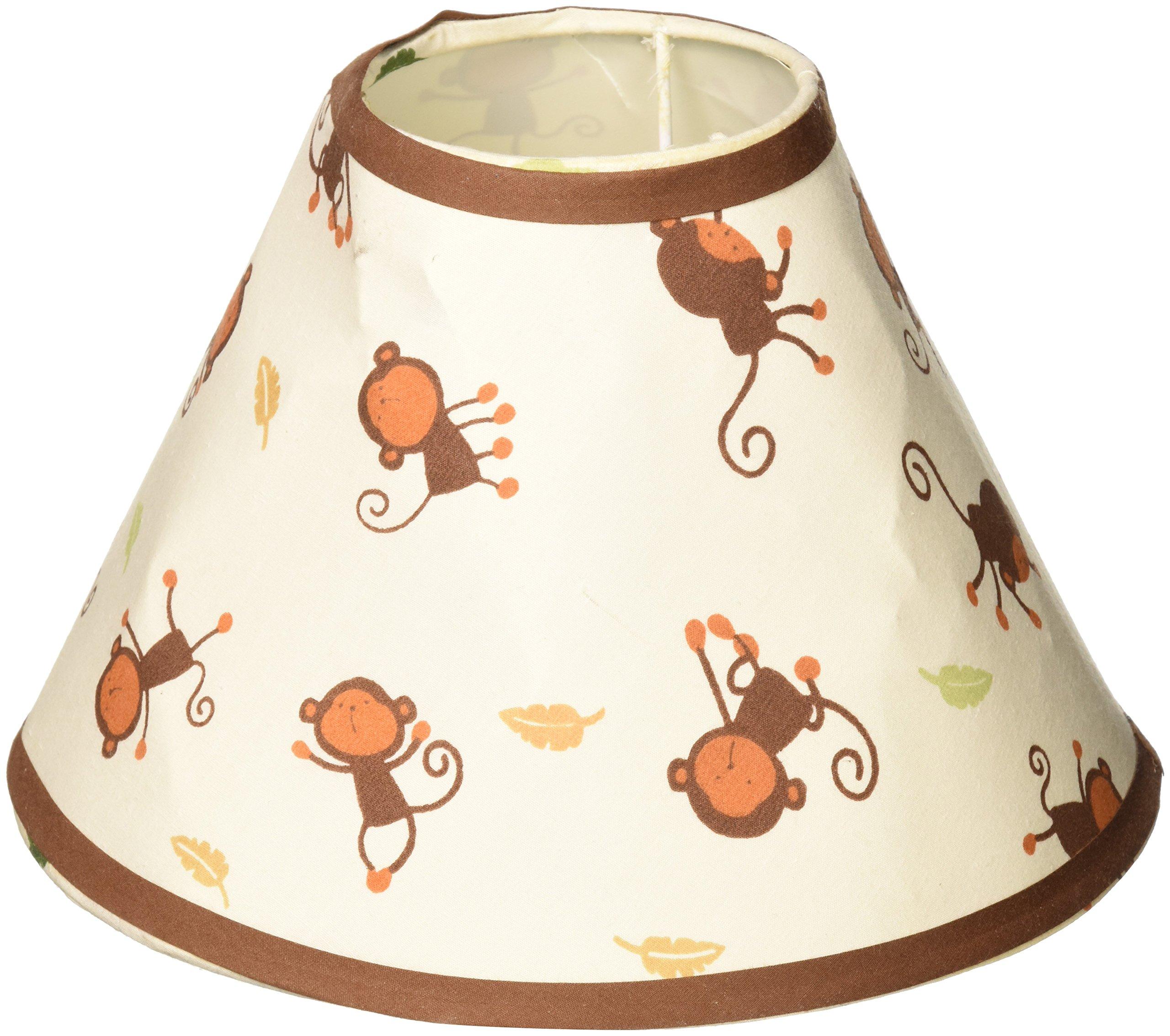 GEENNY Lamp Shade, Amazon Jungle Animals